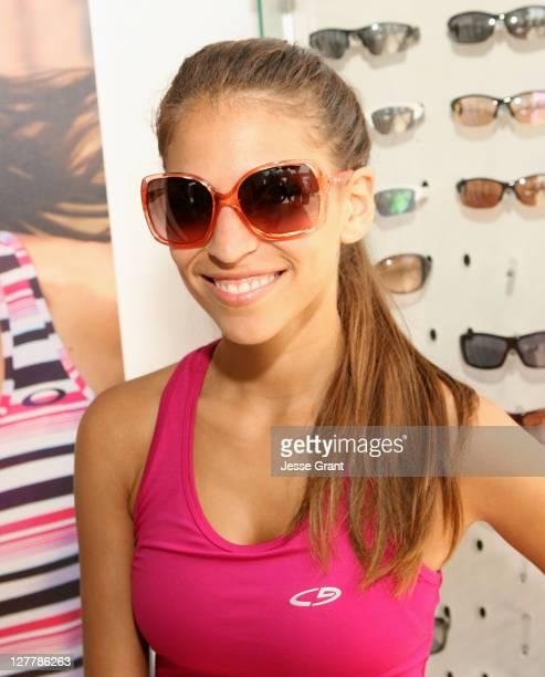 Antonella Barba attends the Muscle Milk Fitness Retreat on June 17 2011 in Venice California