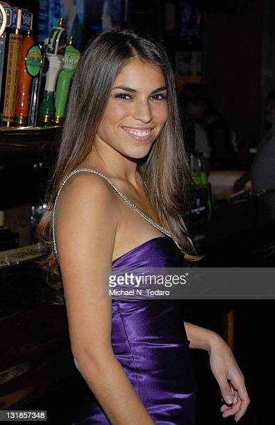 Antonella Barba attends the opening of the new Village Pourhouse on November 11 2010 in Hoboken New Jersey