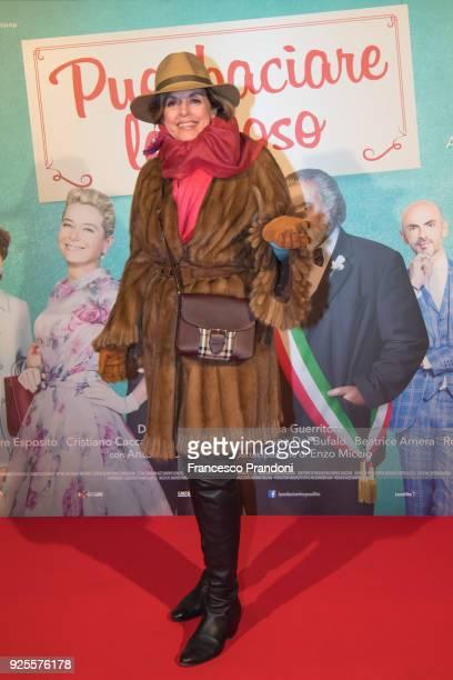 Antonella Boraleviattends a photocall for 'Puoi Baciare Lo Sposo' on February 28 2018 in Milan Italy