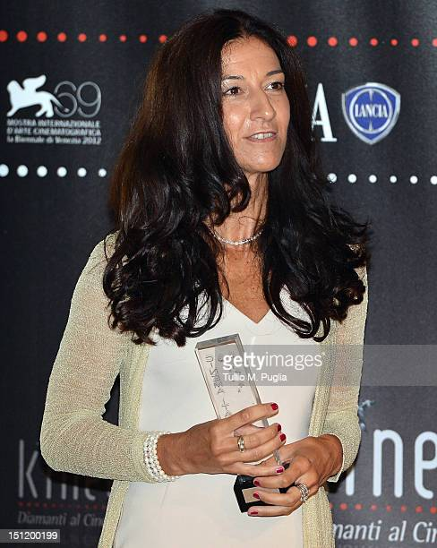 Antonella Bruno Market Director Italy of Lancia Brand at Fiat Group attends the 'Premio Kineo' Ceremony during the 69th Venice International Film...