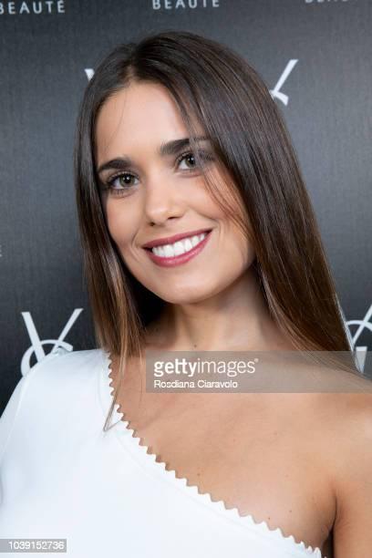Antonella Cavalieri attends 'Ysl Beauty Club Milan' during Milan Fashion Week Spring/Summer 2019 on September 23 2018 in Milan Italy