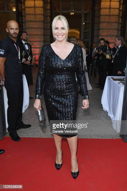 Antonella Clerici attends Celebrity Fight Night at Arena di Verona on September 8 2018 in Verona Italy