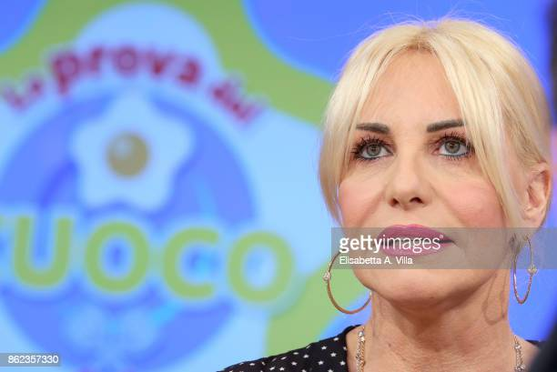 Antonella Clerici attends La Prova Del Cuoco Tv Show on October 16 2017 in Rome Italy