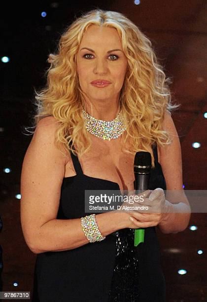 Antonella Clerici attends 'Premio TV 2010' Ceremony Award held at Teatro Ariston on March 18 2010 in San Remo Italy