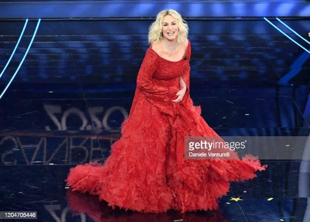 Antonella Clerici attends the 70° Festival di Sanremo at Teatro Ariston on February 07 2020 in Sanremo Italy
