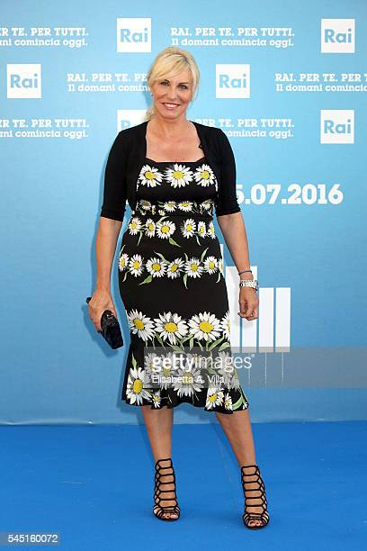 Antonella Clerici attends the Rai Show Schedule Presentation at Salone Delle Fontane on July 5 2016 in Rome Italy