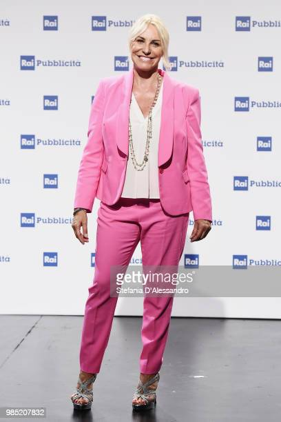Antonella Clerici attends the Rai Show Schedule presentation on June 27 2018 in Milan Italy