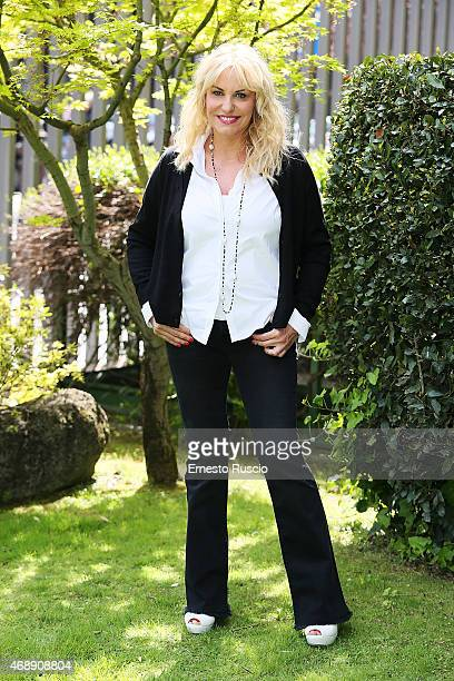 Antonella Clerici attends the 'Senza Parole' TV show press conference at RAI on April 8 2015 in Rome Italy