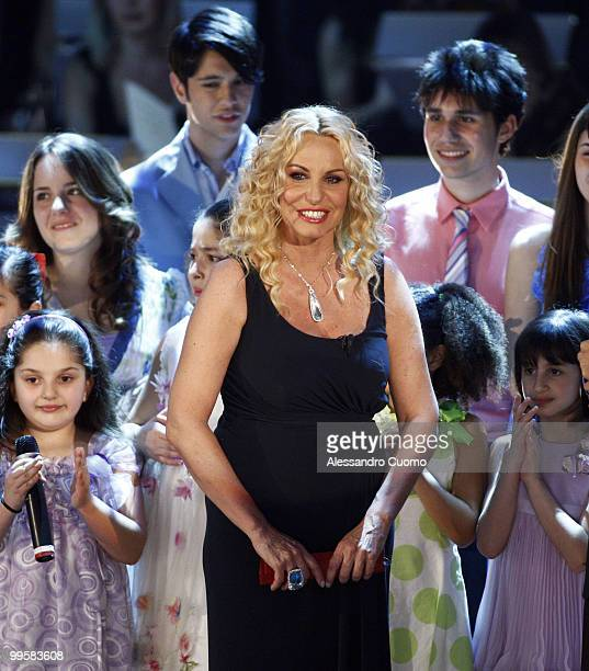 Antonella Clerici attends the ''Ti lascio Una Canzone'' show at the Auditorium of Naples on May 15 2010 in Naples Italy