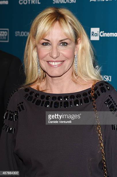 Antonella Clerici attends 'Un'Altra Storia' Charity Event Benefiting Doppia Difesa Arrivals during the 9th Rome Film Festival at Capitol Club on...