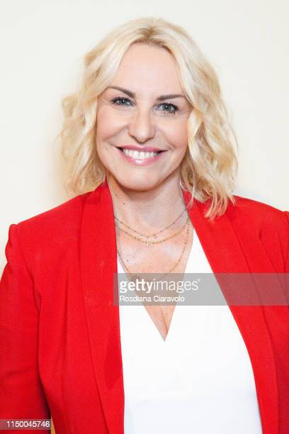 Antonella Clerici poses during the Cibo A Regola D'Arte 2019 at Fabbrica del Vapore on May 17 2019 in Milan Italy