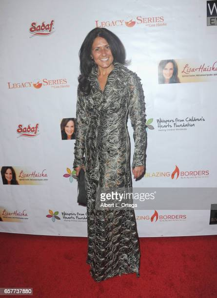 Antonella Commatto arrives for the Whispers From Children's Hearts Foundation's 3rd Legacy Charity Gala held at Casa Del Mar on March 24 2017 in...