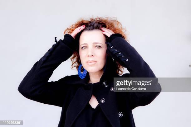 Antonella Gatti Bardelli, Italian writer, Erba, Italy, 2012.