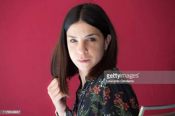 Antonella Lattanzi Italian writer Milan Italy 21st May 2017