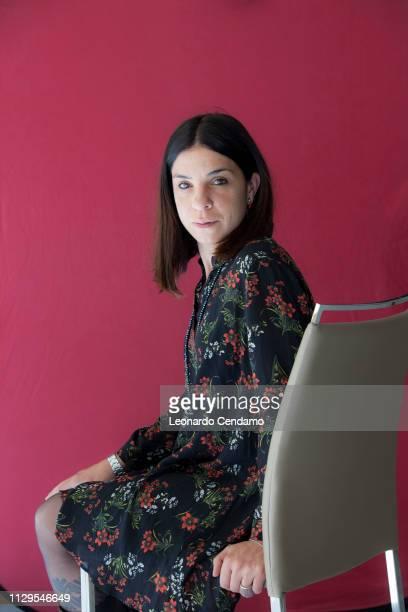 Antonella Lattanzi Italian writer Toprino Italy 21st May 2017