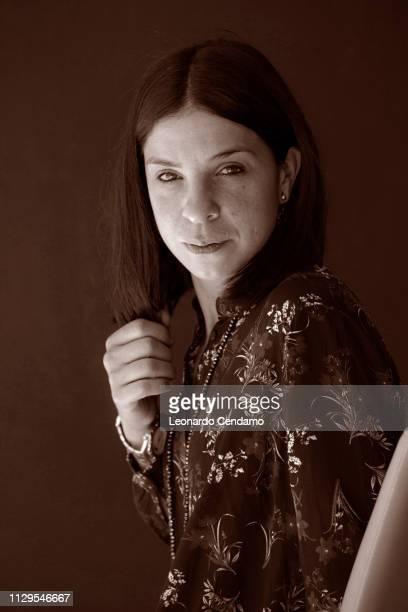 Antonella Lattanzi, Italian writer, Toprino, Italy, 21st May 2017.