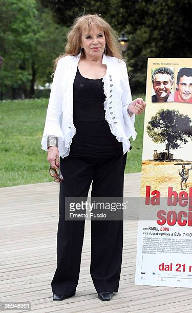 Antonella Lualdi attends the 'La Bella Societ�' photocall at La Casa Del Cinema on May 10 2010 in Rome Italy
