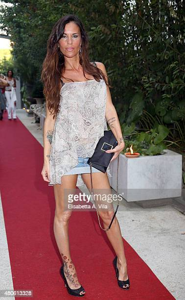 Antonella Mosetti attends Sandro Ferrone F/W 2015/16 Collection Presentation as part of AltaRoma AltaModa Fashion Week Fall/Winter 2015/16 at Villa...