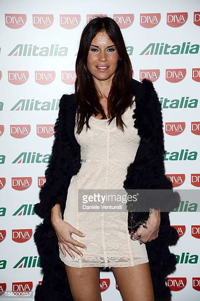 Antonella Mosetti attends the Jet Set Party Alitalia at Residenza di Ripetta on November 10 2012 in Rome Italy