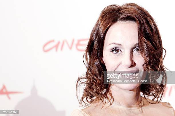 Antonella Ponziani at the photocall of movie 'La Scuola �� finita' during the 5th International Rome Film Festival