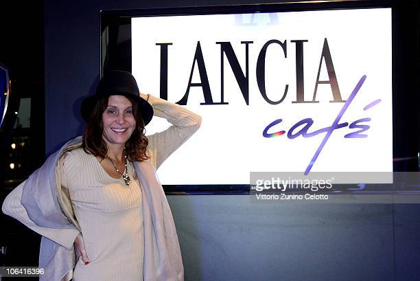 Antonella Ponziani attends the Lancia Cafe during the 5th Rome International Film Festival on November 1 2010 in Rome Italy