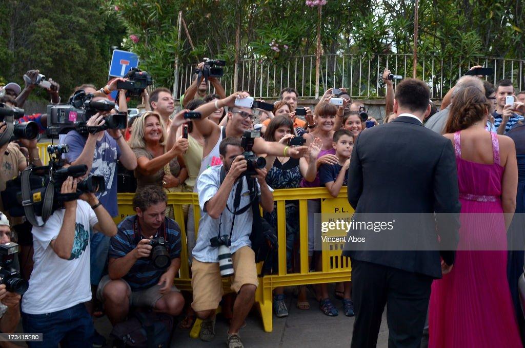 Xavi Hernandez Wedding : News Photo
