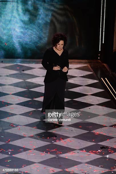 Antonella Ruggiero attends the opening night of the 64th Festival di Sanremo 2014 at Teatro Ariston on February 18 2014 in Sanremo Italy