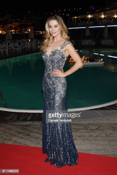 Antonella Salvucci attends 2017 Ischia Global Film Music Fest on July 9 2017 in Ischia Italy