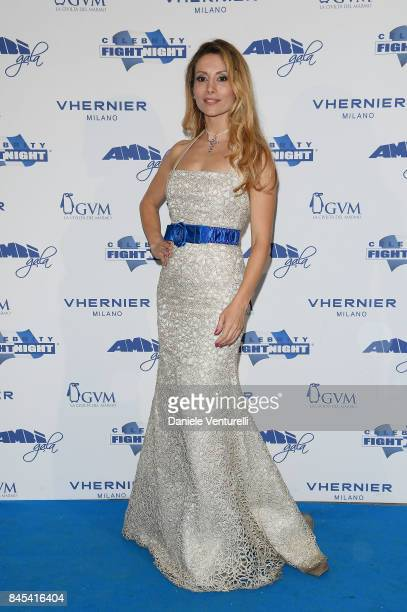 Antonella Salvucci attends Celebrity Fight Night on September 10 2017 in Rome Italy