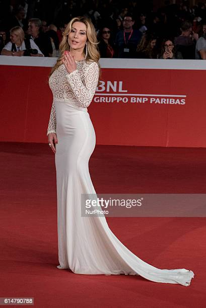 Antonella Salvucci attends Red carpet for 'Powidoki Afterimage' during the 11th Rome Film Festival at Auditorium Parco Della Musica on October 14...