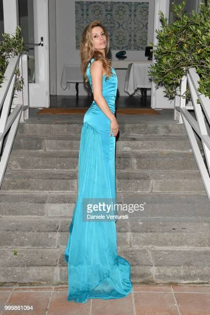 Antonella Salvucci attends the 2018 Ischia Global Film Music Fest opening ceremony on July 15 2018 in Ischia Italy