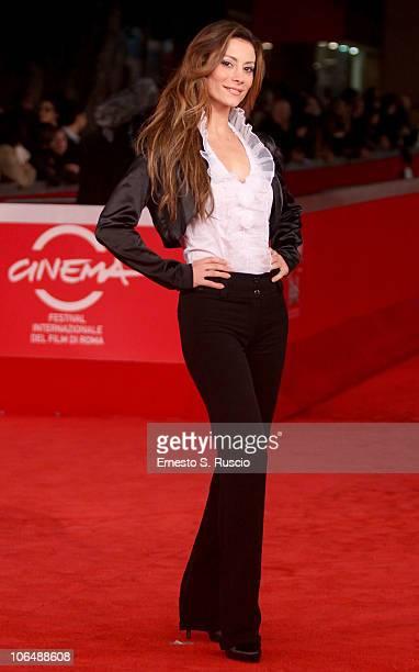 Antonella Salvucci attends the 'Boardwalk Empire' Premiere during the 5th International Rome Film Festival at Auditorium Parco Della Musica on...