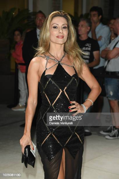 Antonella Salvucci attends the Opening Dinner during the 75th Venice Film Festival at Excelsior Hotel on August 29 2018 in Venice Italy