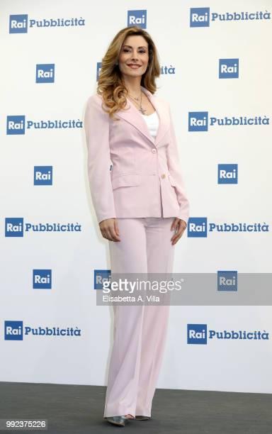 Antonella Salvucci attends the Rai Show Schedule presentation on July 5 2018 in Rome Italy