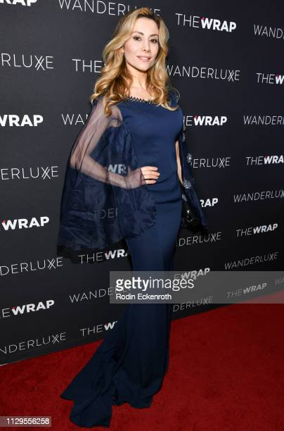 Antonella Salvucci attends TheWrap and WanderLuxxe Host an Evening Honoring Women and Inclusion at Norah on February 13 2019 in West Hollywood...