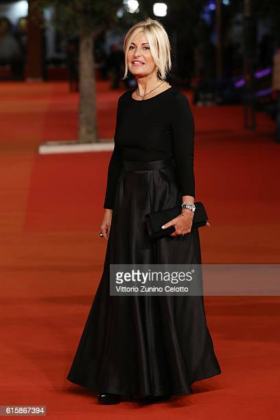 Antonella Splendore walks a red carpet for 'Fritz Lang' during the 11th Rome Film Festival at Auditorium Parco Della Musica on October 20 2016 in...