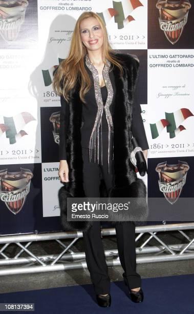 """Antonella Troise attends the """"L'Ultimo Gattopardo"""" premiere at Auditorium Della Conciliazione on January 18, 2011 in Rome, Italy."""