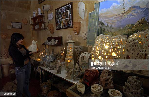 Antonella works in a souvenir shop. She had a small role in the film, she remembers as a great experience in Matera Potenza, Italy in April, 2004.
