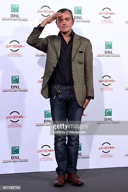 Antonello Sarno attends the 'Giulio Cesare Compagni di scuola' Photocall during the 9th Rome Film Festival on October 19 2014 in Rome Italy