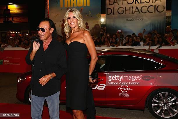 Antonello Venditti and Tiziana Rocca attend the 'Giulio Cesare Compagni di scuola' Red Carpet during the 9th Rome Film Festival on October 19 2014 in...
