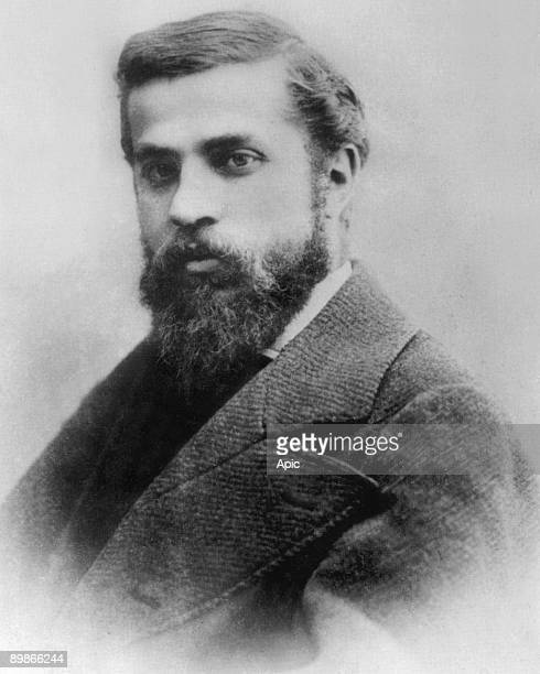 Antoni Gaudi Catalan architect c 1882