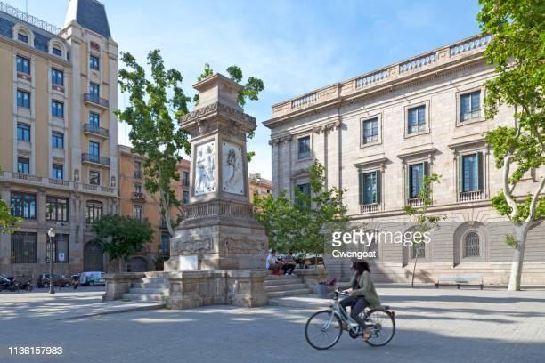 plaza antoni lópez en barcelona - gwengoat fotografías e imágenes de stock