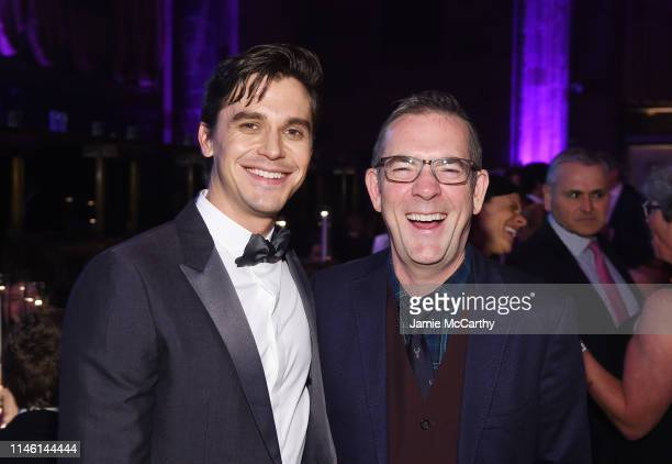 Antoni Porowski and Ted Allen attend City Harvest: The 2019 Gala on April 30, 2019 at Cipriani 42nd Street in New York City.