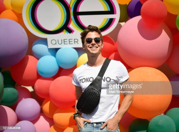 Antoni Porowski attends Netflix's Queer Eye and GLSEN event at NeueHouse Hollywood on August 12 2018 in Hollywood California