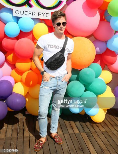 Antoni Porowski attends Netflix's Queer Eye Celebrates 4 Emmy Nominations With GLSEN on August 12 2018 in Hollywood California
