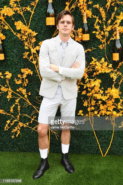 Antoni Porowski attends the 12th Annual Veuve Clicquot Polo Classic at Liberty State Park on June 01 2019 in Jersey City New Jersey