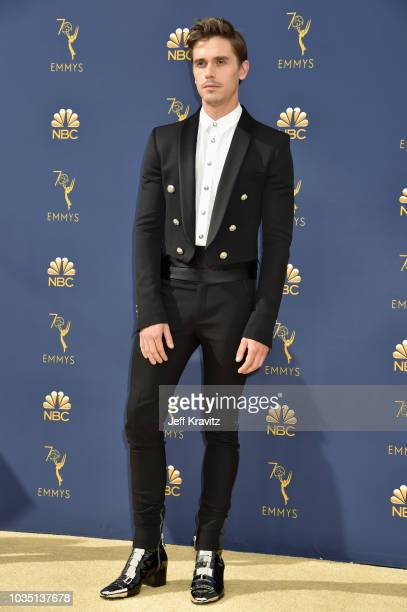 Antoni Porowski attends the 70th Emmy Awards at Microsoft Theater on September 17 2018 in Los Angeles California
