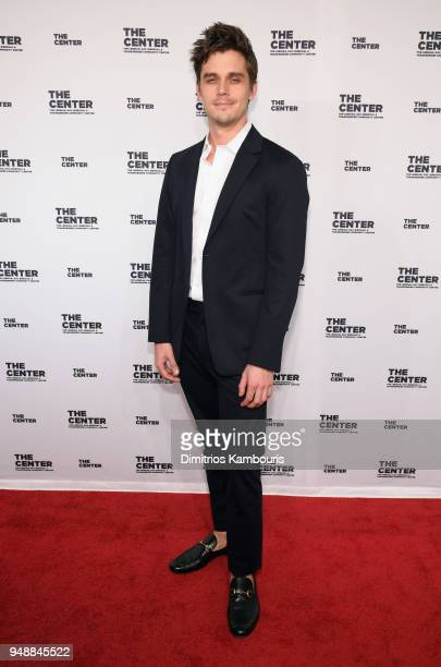 Antoni Porowski attends The Center Dinner 2018 at Cipriani Wall Street on April 19 2018 in New York City