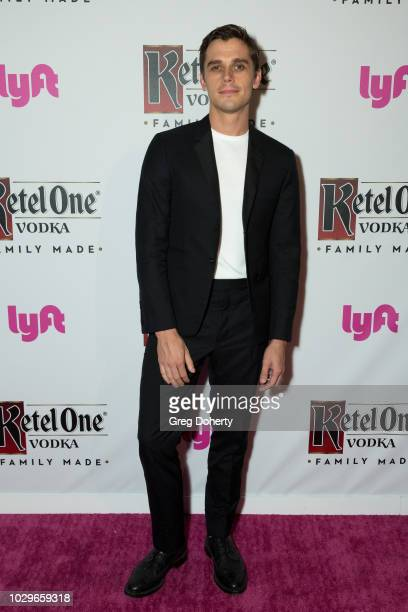 Antoni Porowski attends the Ketel One FamilyMade Vodka Celebrates Queer Eye Cast At PreEmmy Party at Kimpton La Peer Hotel on September 8 2018 in...