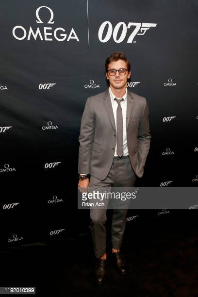 Antoni Porowski attends the Omega Bond Watch Unveiling on December 04 2019 in New York City